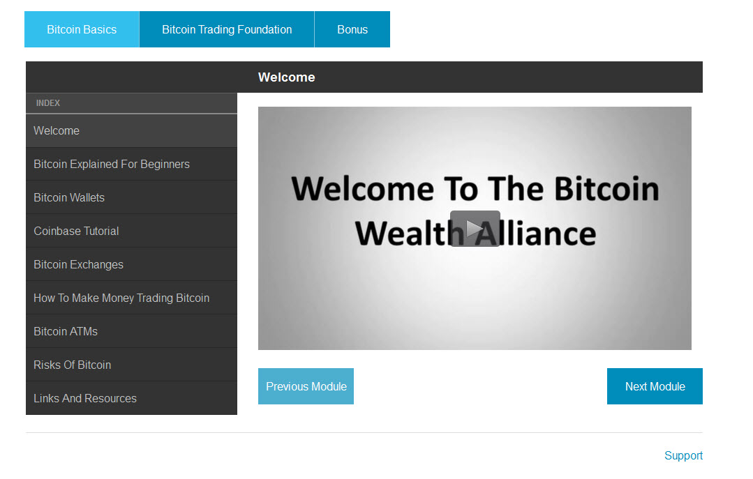 Bitcoin Wealth Alliance Training Program